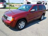 2008 Red Rock Crystal Pearl Jeep Grand Cherokee Laredo #64612001