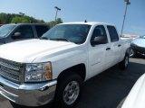 2012 Summit White Chevrolet Silverado 1500 LT Crew Cab #64611981