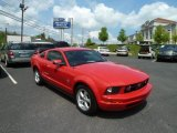 2007 Torch Red Ford Mustang V6 Deluxe Coupe #64663554