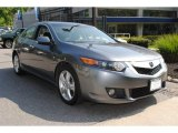 2010 Polished Metal Metallic Acura TSX Sedan #64663547