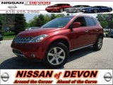 2006 Sunset Red Pearl Metallic Nissan Murano SE AWD #64665128