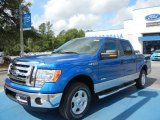 2012 Blue Flame Metallic Ford F150 XLT SuperCrew #64663522