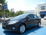 2012 Tuxedo Black Metallic Ford Focus SEL Sedan #64663517