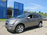 2012 Graystone Metallic Chevrolet Equinox LT AWD #64663494