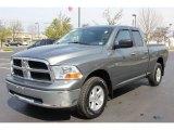 2009 Mineral Gray Metallic Dodge Ram 1500 SLT Quad Cab 4x4 #64665096