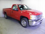 2012 Victory Red Chevrolet Silverado 1500 LS Regular Cab #64664301