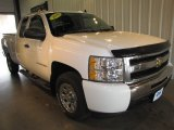 2009 Summit White Chevrolet Silverado 1500 LS Extended Cab #64664295