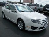 2011 White Suede Ford Fusion SE V6 #64663429