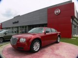 2008 Inferno Red Crystal Pearl Chrysler 300 LX #64665045