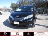 2012 Black Toyota Sienna Limited AWD #64663421