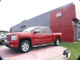 2008 Victory Red Chevrolet Silverado 1500 LT Crew Cab 4x4 #64665040
