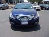 2013 Indigo Night Blue Hyundai Sonata SE #64663413