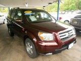 2007 Dark Cherry Pearl Honda Pilot EX 4WD #64664276