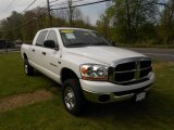 2006 Bright White Dodge Ram 1500 SLT Mega Cab 4x4 #64664275
