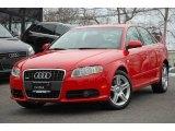 2008 Brilliant Red Audi A4 2.0T quattro Sedan #6466436