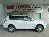 2012 Blizzard White Pearl Toyota RAV4 V6 Limited 4WD #64663343