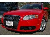 2008 Brilliant Red Audi A4 2.0T quattro Sedan #6466435