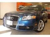 2008 Ocean Blue Pearl Effect Audi A4 2.0T quattro Sedan #6466461