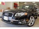 2008 Brilliant Black Audi A4 3.2 Quattro S-Line Sedan #6466462