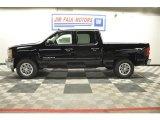 2012 Black Chevrolet Silverado 1500 LS Crew Cab 4x4 #64664903