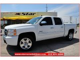 2009 Summit White Chevrolet Silverado 1500 LT Texas Edition Extended Cab #64664171