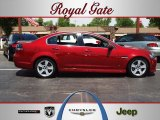 2009 Sport Red Metallic Pontiac G8 GT #64663250