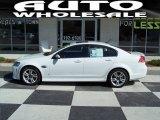 2009 White Hot Pontiac G8 Sedan #64664151