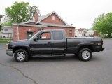 2004 Dark Gray Metallic Chevrolet Silverado 1500 Z71 Extended Cab 4x4 #64664882