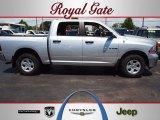 2009 Bright Silver Metallic Dodge Ram 1500 SLT Crew Cab 4x4 #64664854