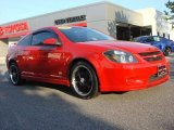 2007 Victory Red Chevrolet Cobalt SS Supercharged Coupe #64663202