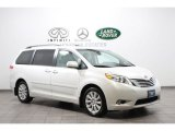 2011 Super White Toyota Sienna Limited AWD #64664782