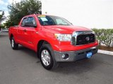 2007 Radiant Red Toyota Tundra SR5 TRD Double Cab 4x4 #64663129