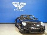 2008 Basalt Black Metallic Porsche 911 Turbo Cabriolet #64663087