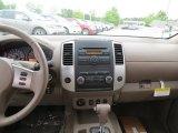 2012 Nissan Frontier SV Crew Cab 4x4 Dashboard
