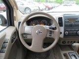 2012 Nissan Frontier SV Crew Cab 4x4 Steering Wheel