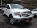 2010 Super White Toyota Tundra Double Cab 4x4 #64664665