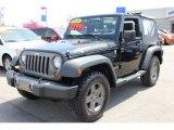 2010 Black Jeep Wrangler Sport Mountain Edition 4x4 #64664658