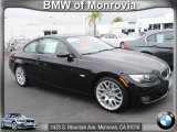 2009 Jet Black BMW 3 Series 328i Coupe #64663925