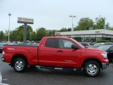 2010 Radiant Red Toyota Tundra TRD Double Cab 4x4 #64663908
