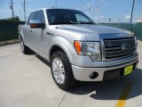 2010 Ingot Silver Metallic Ford F150 Platinum SuperCrew #64663887