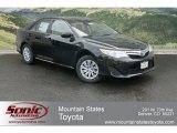 2012 Attitude Black Metallic Toyota Camry Hybrid LE #64662948
