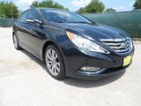 2013 Pacific Blue Pearl Hyundai Sonata Limited 2.0T #64663868