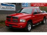 2005 Flame Red Dodge Ram 1500 Sport Quad Cab 4x4 #64663841