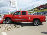 2007 Victory Red Chevrolet Silverado 1500 Classic Z71 Extended Cab 4x4 #64663836