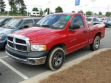2005 Flame Red Dodge Ram 1500 ST Regular Cab #64664523
