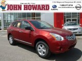 2012 Cayenne Red Nissan Rogue S Special Edition AWD #64664487