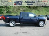 2012 Imperial Blue Metallic Chevrolet Silverado 1500 LT Crew Cab 4x4 #64663743