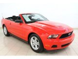 2012 Race Red Ford Mustang V6 Convertible #64664442