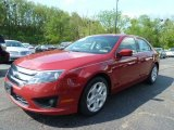 2010 Sangria Red Metallic Ford Fusion SE V6 #64663649