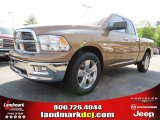 2012 Saddle Brown Pearl Dodge Ram 1500 Big Horn Quad Cab #64663630